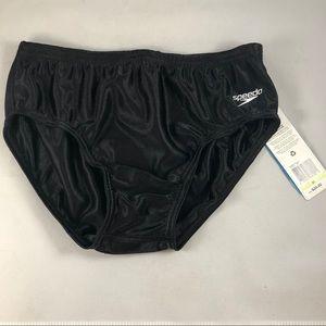 Speedo swimsuit black RETIRED NWT